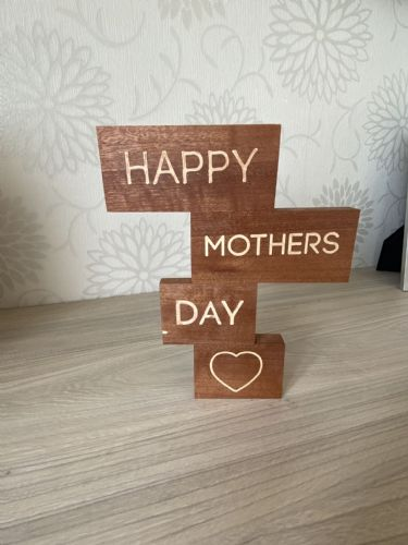 Personalised Engraved Wooden Block